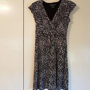 Jessica Howard black and white dress